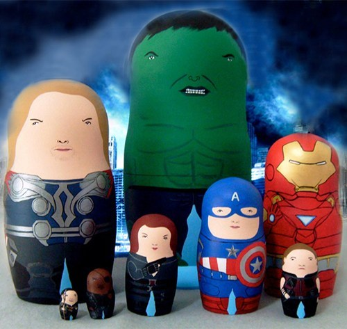 Avengers Dolls of the Day