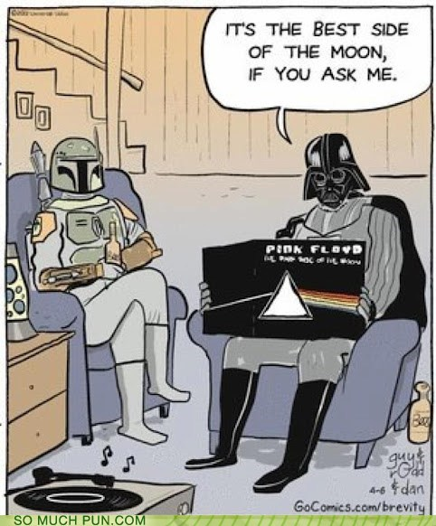 Oh Vader, That's So Typical of You!