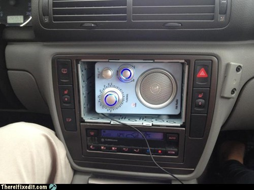 Nice Stereo, Dude! Did You Have It Custom-Installed?