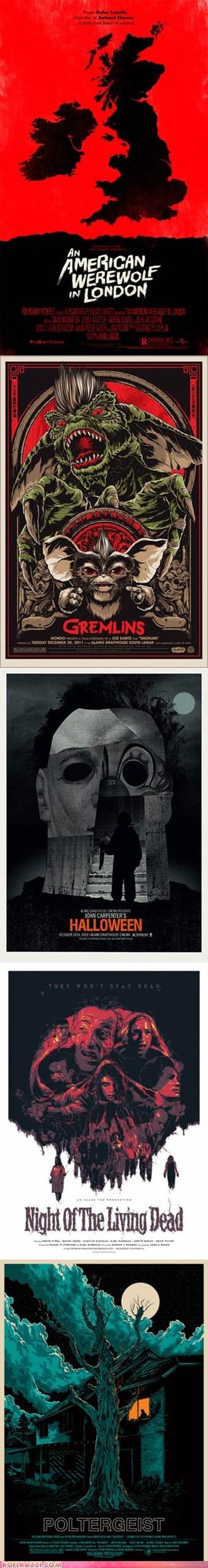 Creepy Alternate Reality Movie Posters