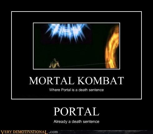 death sentence,hilarious,Mortal Kombat,Portal