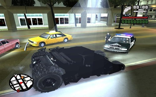 San Andreas Batman Mod of the Day