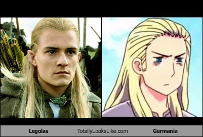 Legolas Totally Looks Like Germania