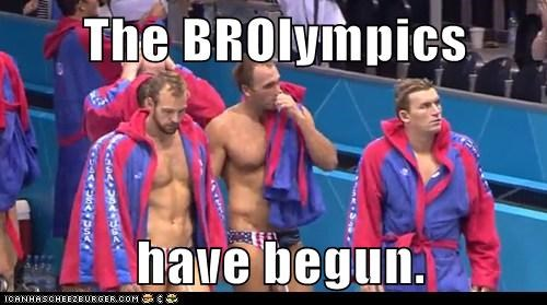 bros,London,olympics,political pictures,water polo