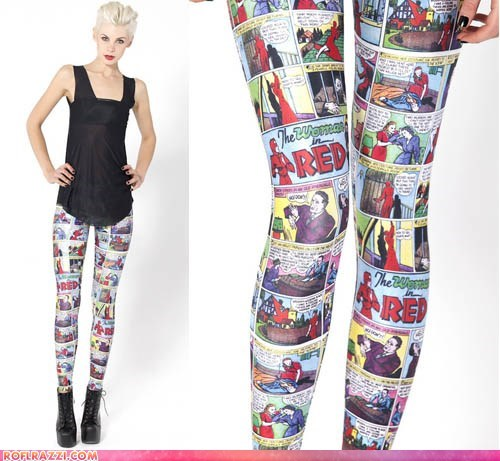 If Style Could Kill: Comic Tights by Black Milk
