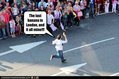 banana,London,olympics,political pictures