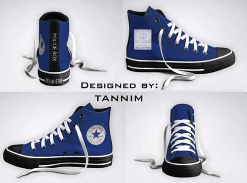 TARDIS Chucks of the Day