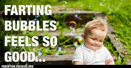 baby,bubbles,farts