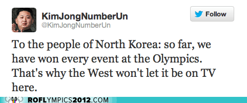 ROFLympics 2012: Somehow I Doubt This