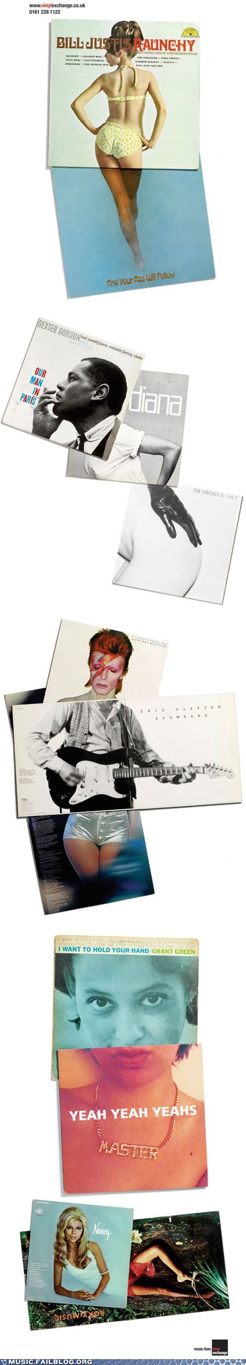 Vinyl Album Covers Remixed
