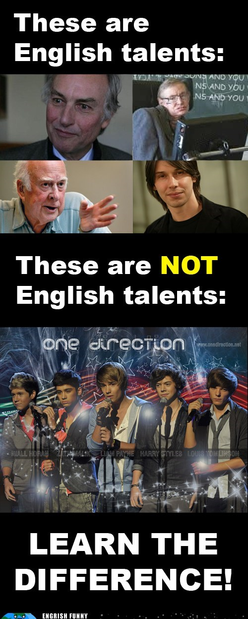 The True English Talents