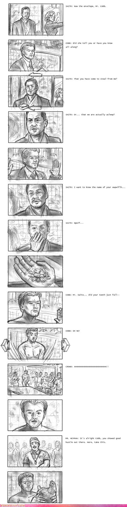 "If ""Inception"" Happened in Actual Dreams"
