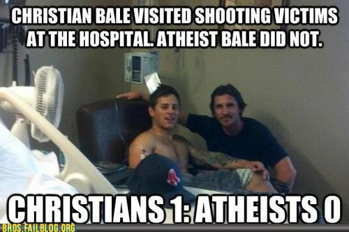atheism,atheist,batman,christian bale,colorado shooting