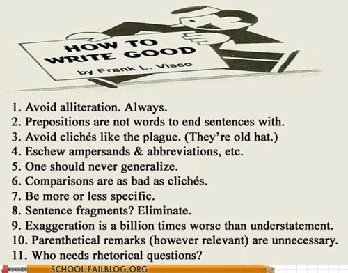 Grammar is Well to Know