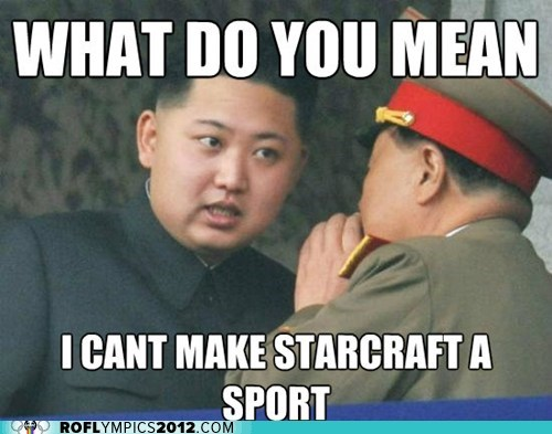 kim jong-un,korea,London 2012,olympics,starcraft