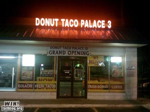donuts,drool,food,restaurant,tacos