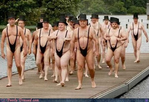 Poorly Dressed: The Mankini Parade is In Town!
