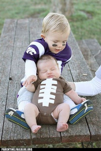 brothers,children costumes,football