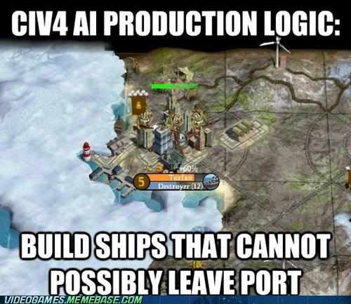 Civ IV AI Logic