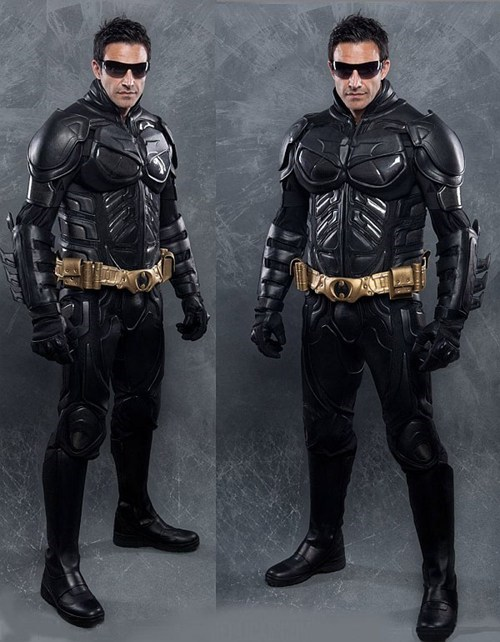 Dark Knight Rises Motorcycle Suit of the Day