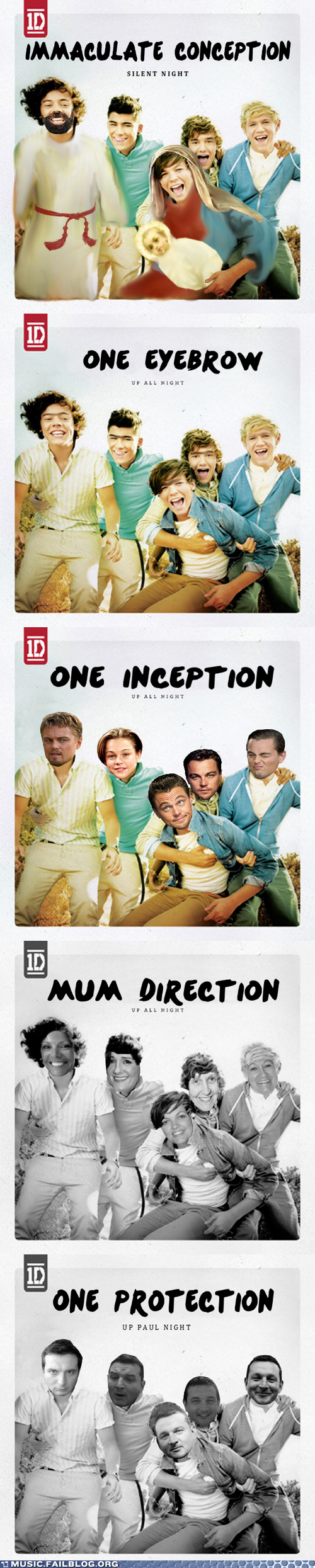 Music FAILS: Five Shops, One Direction