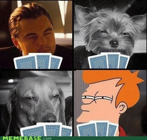 Who has the best pokerface?
