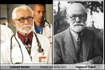 Colonel Doctor (Bob Bencomo) Totally Looks Like Sigmund Freud