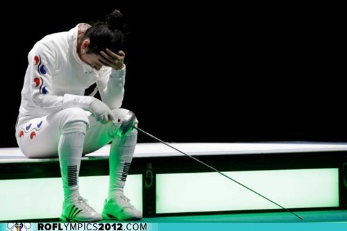 South Korean Fencer Awarded Special Medal, Tells Governing Body to Shove It