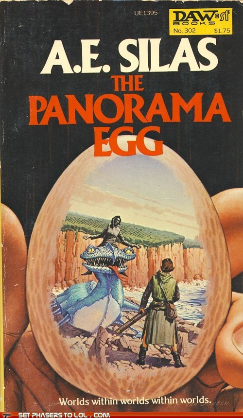 WTF Sci-Fi Book Covers: The Panorama Egg