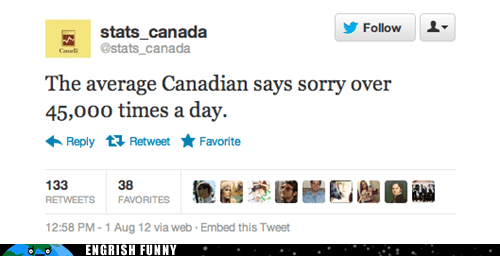 Canada,canadian,sorry