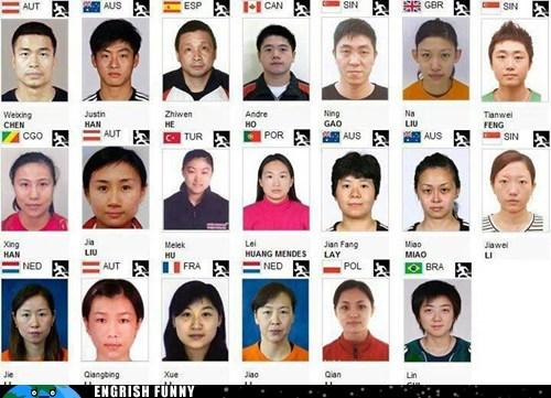 China,chinese,London 2012,London Olympics,olympics,ping pong,ROFLympics 2012
