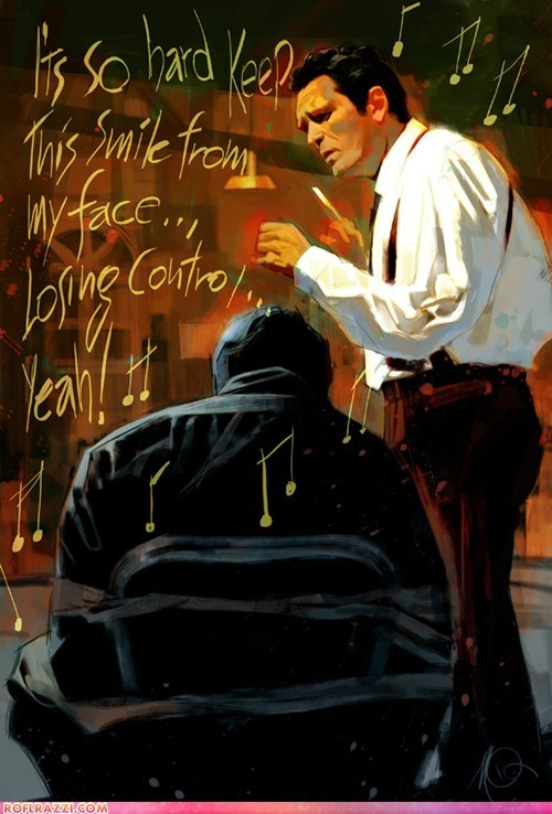 Awesome Reservoir Dogs Painting