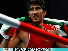 boxing,disqualified,drama,iran,London 2012,olympics