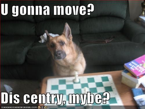 U gonna move?  Dis centry, mybe?