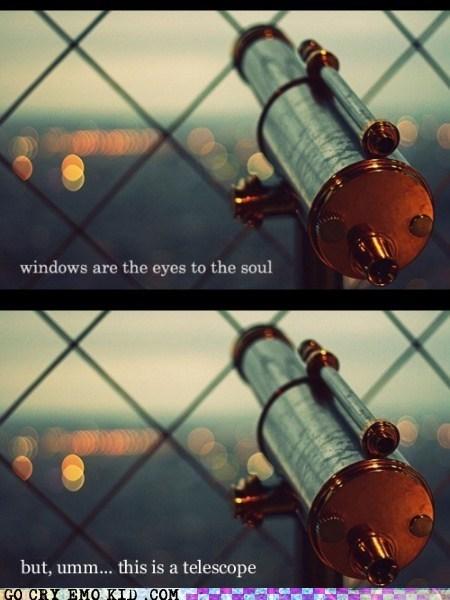 hipsterlulz,soul,Telescope,windows,windows.