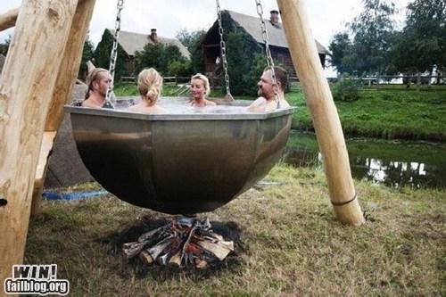 bath,design,hot tub,relaxing,wincation