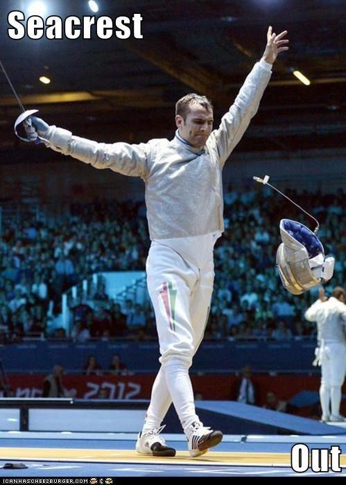 Fencing,Ryan Seacrest,Seacrest Out