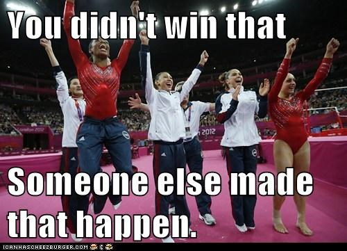 barack obama,gymnastics,London,olympics,political pictures,usa,you-didnt-build-that