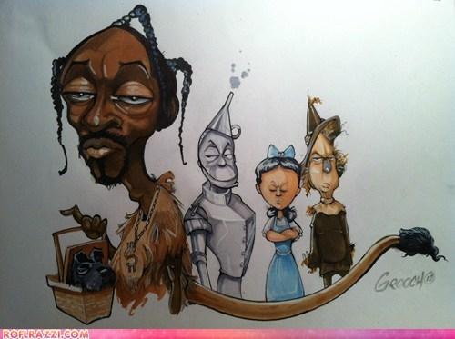 Snoop Lion in the Wizard of Oz