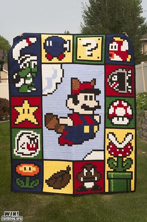 Mario Quilt WIN