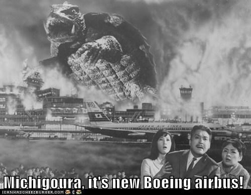 Michigoura, it's new Boeing airbus!