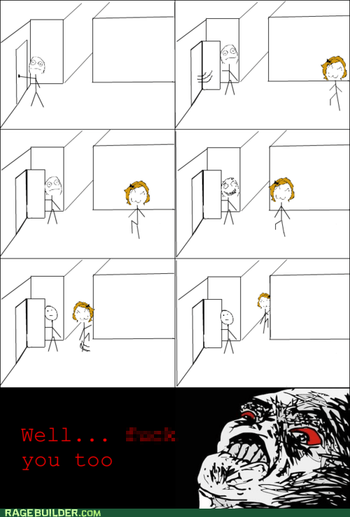Rage Comics: I Was Just Trying to Be Polite!