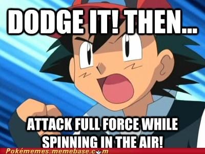 Ash's Battle Logic...
