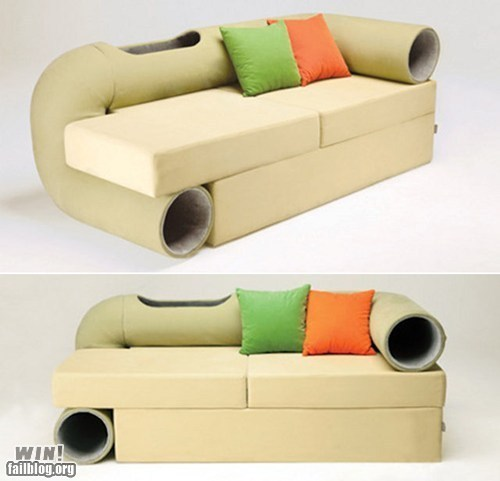 WIN!: Kitty Couch WIN