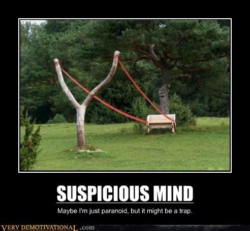 hilarious,mind,paranoid,suspicious,trap