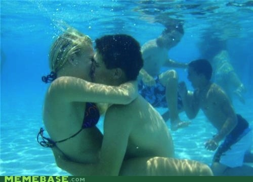 couple,sexy times,snorkel,underwater