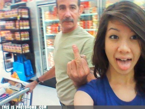 awesome,grocery store,middle finger,teens