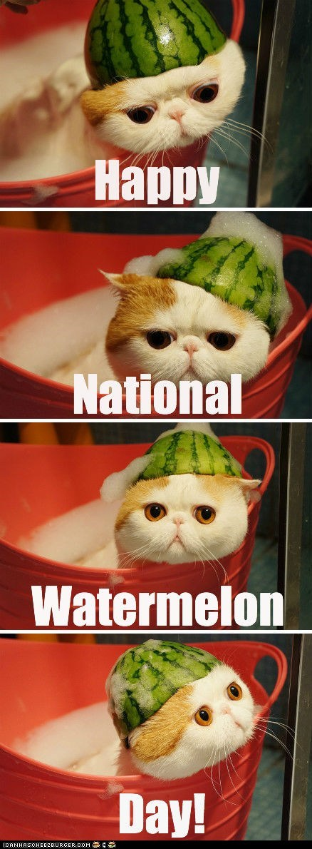 Happy National Watermelon Day!