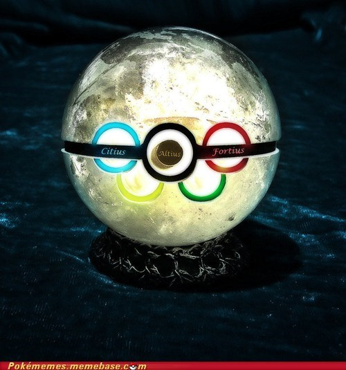 The Olympic Pokéball