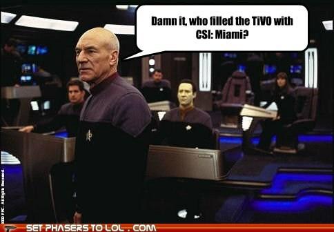 bad tv,Captain Picard,csi miami,patrick st